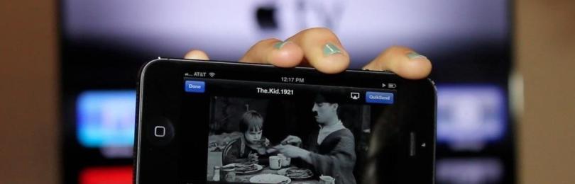 Как вывести фото на телевизор с Айфона