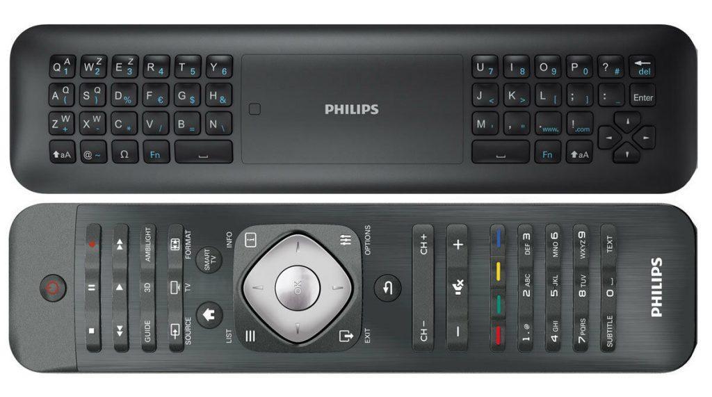 Пульт Смарт ТВ с клавиатурой Philips